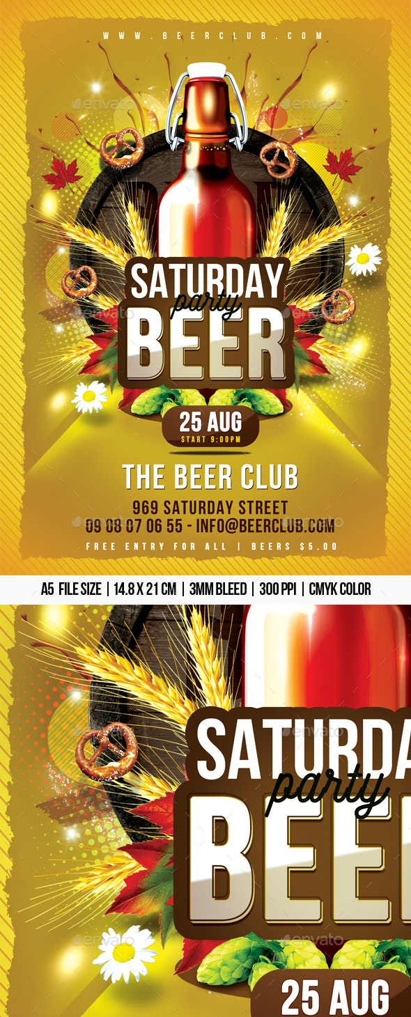 Saturday Beer Party - Clubs & Parties Events