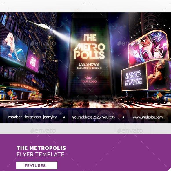 The Metropolis Flyer Template