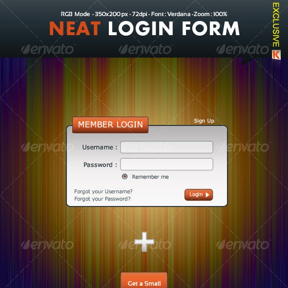 Neat Login Form