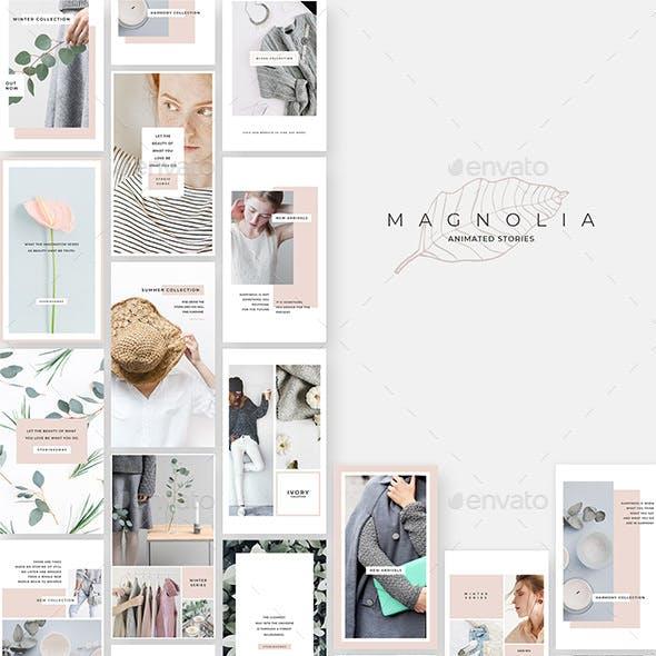 Magnolia Animated Instagram Stories