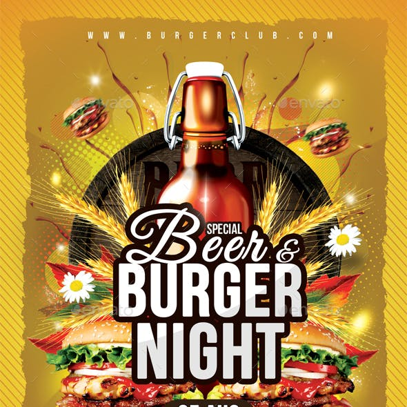 Beer & Burger Night