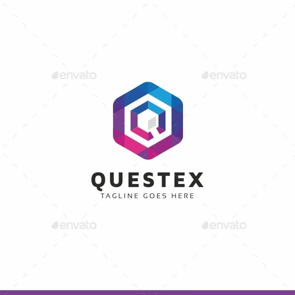 Questex - Q Letter Logo Template