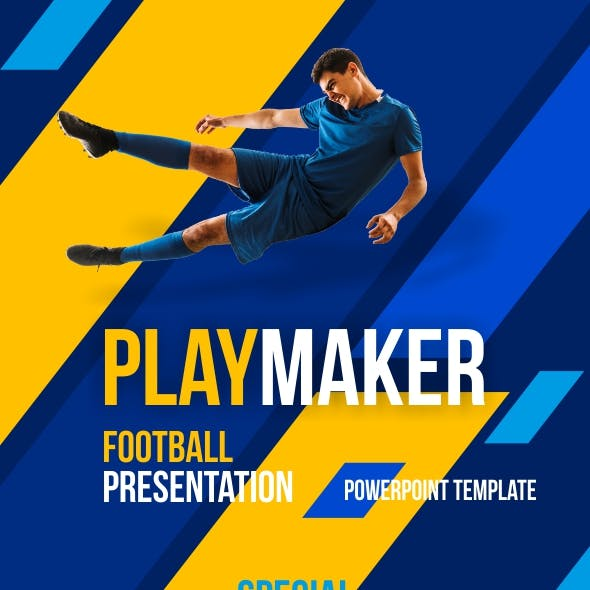 Playmaker - Football Powerpoint Template