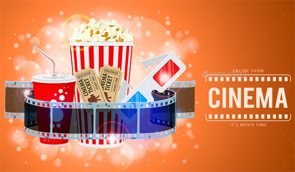 Cinema and Movie Banner - Media Technology