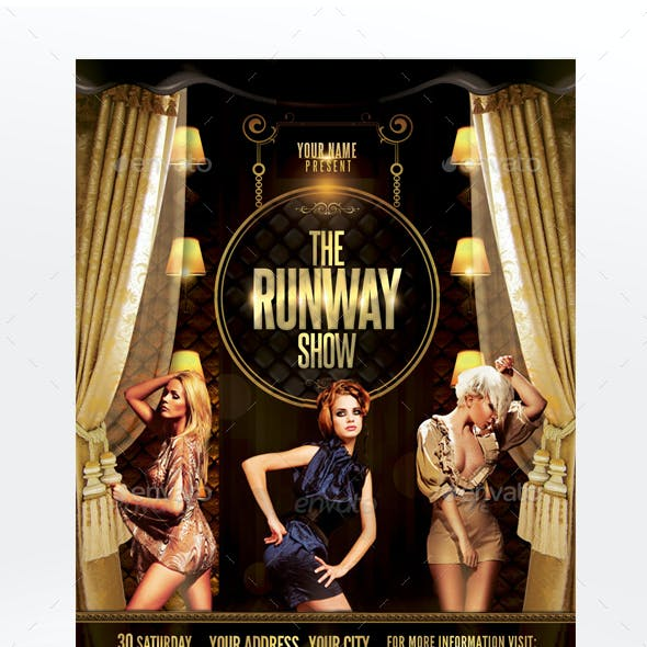 The Runway Show Flyer Template