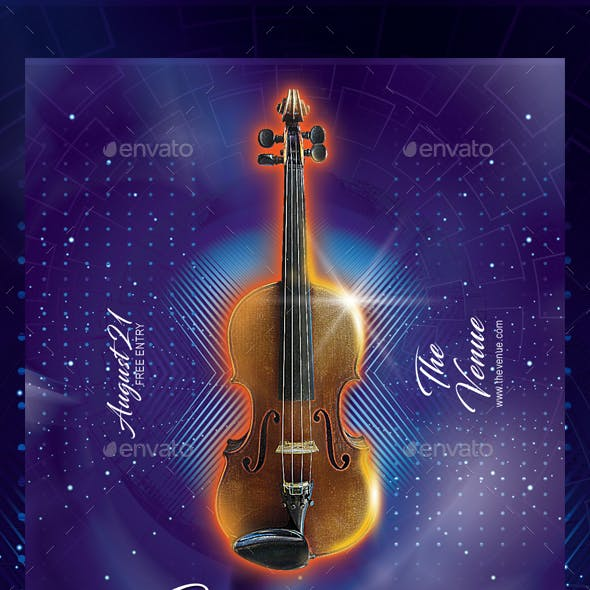 Classical Music Flyer