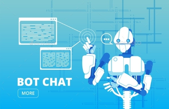 Bot Chat Robot Supporter - Miscellaneous Vectors