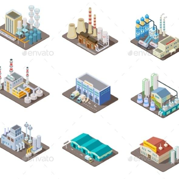 Isometric Factory Set