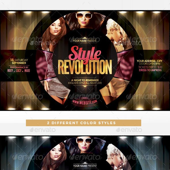 Style Revolution Flyer Template