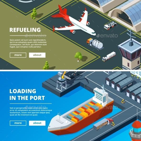 Cargo Concept Banners - Miscellaneous Conceptual