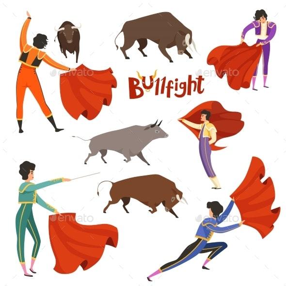 Bullfighting Corrida - Sports/Activity Conceptual