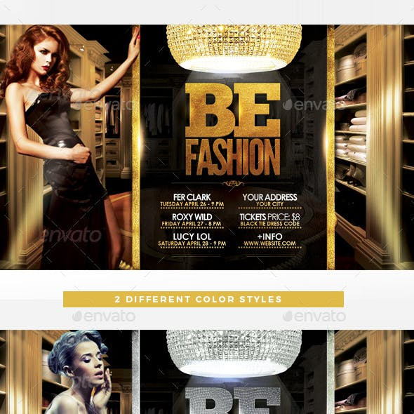 Be Fashion Flyer Template