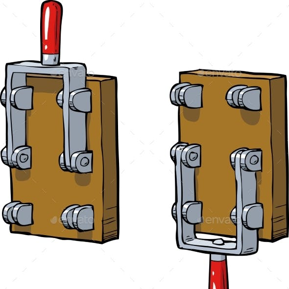 Cartoon Old Switch