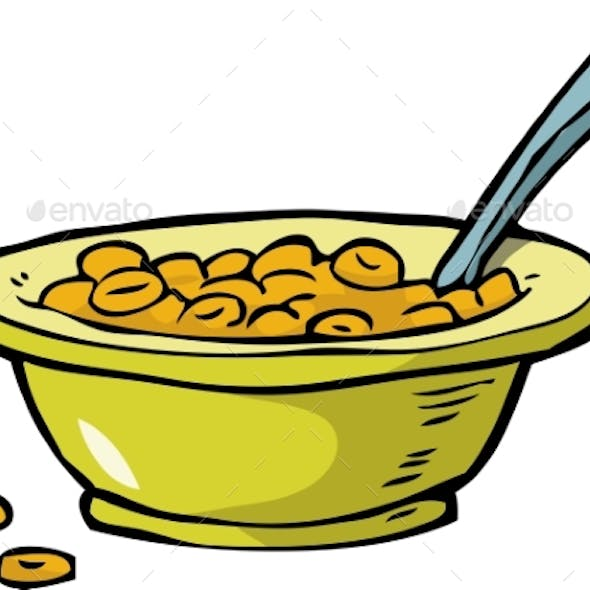 Plate of Cereal