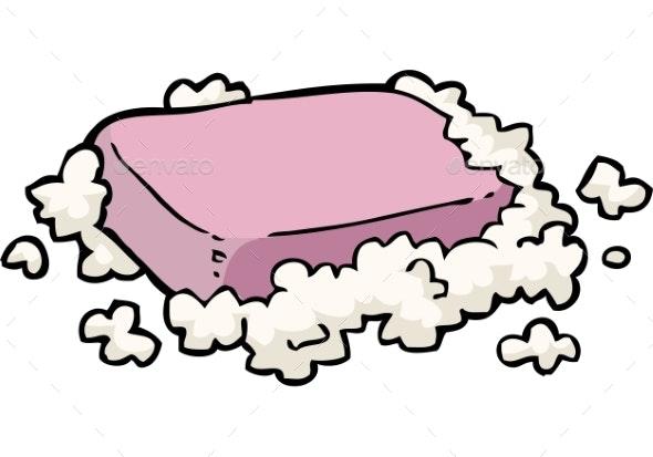 Soap in Foam - Man-made Objects Objects