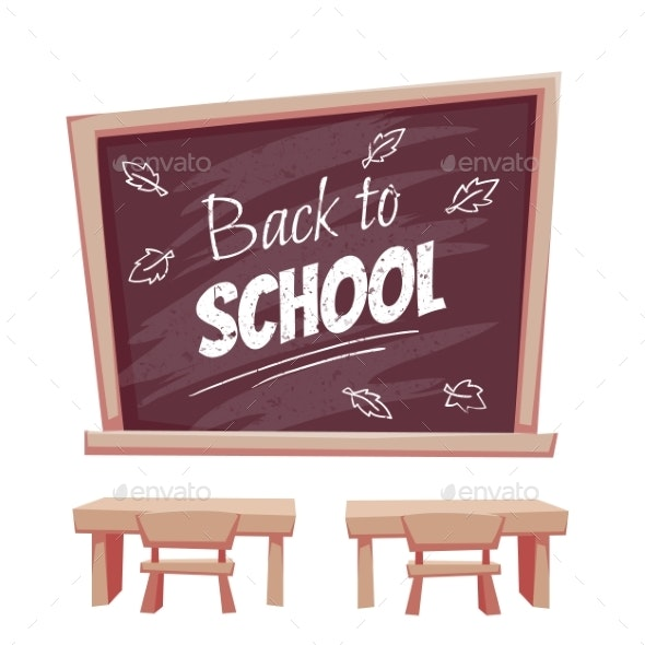 Illustration of Back To School Poster - Miscellaneous Conceptual