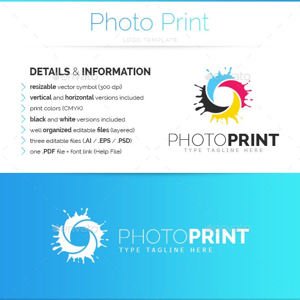 Photo Print - Logo Template