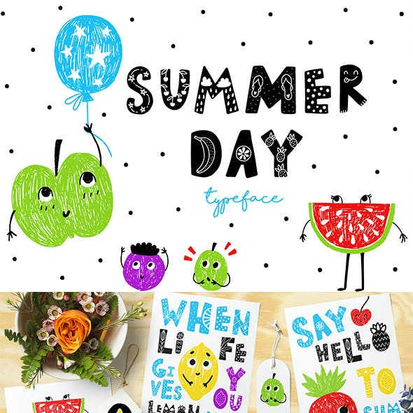 Summer Day Typeface