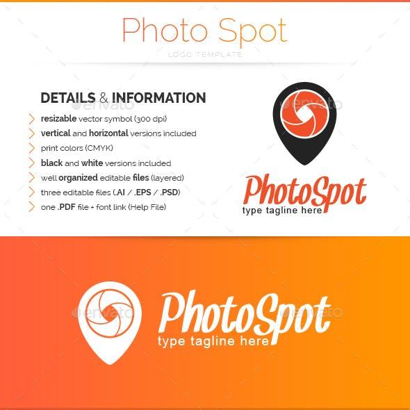 Photo Spot - Logo Template