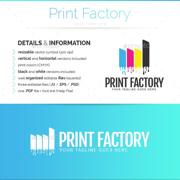 Print Factory - Logo Template
