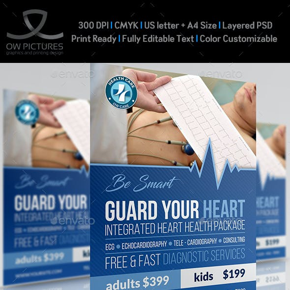 Medical Flyer Template Vol.4