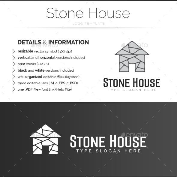 Stone House - Logo Template