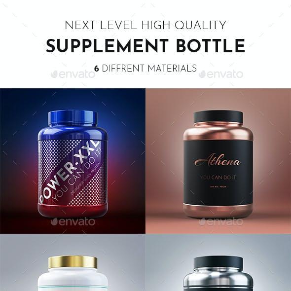Supplement Bottle XXL