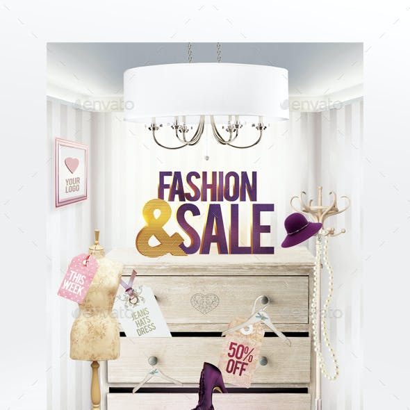 Fashion & Sale Flyer Template