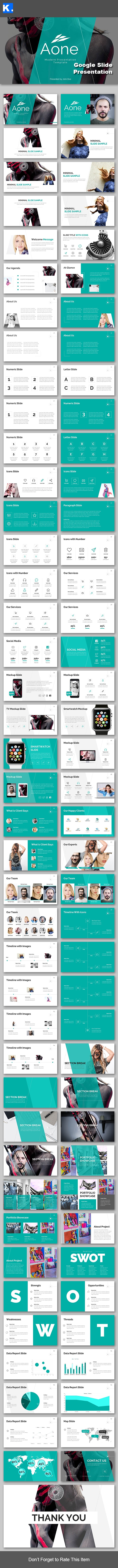 Aone - Google Slide Presentation Template - Google Slides Presentation Templates
