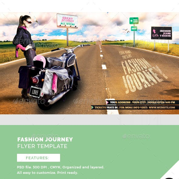 Fashion Journey Flyer Template