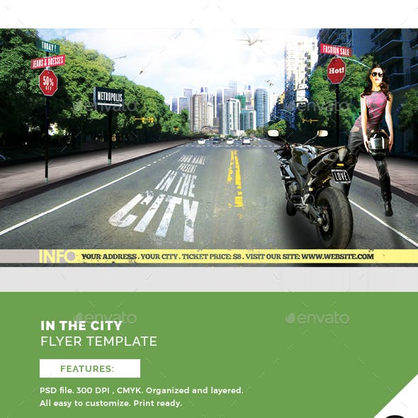 In The City Flyer Template