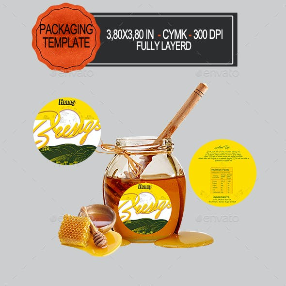 Honey Label Packaging