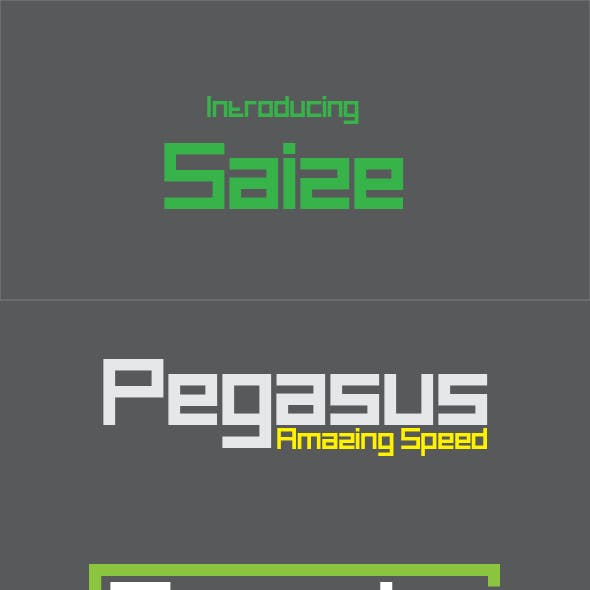 Soviet Bitmap Fonts from GraphicRiver