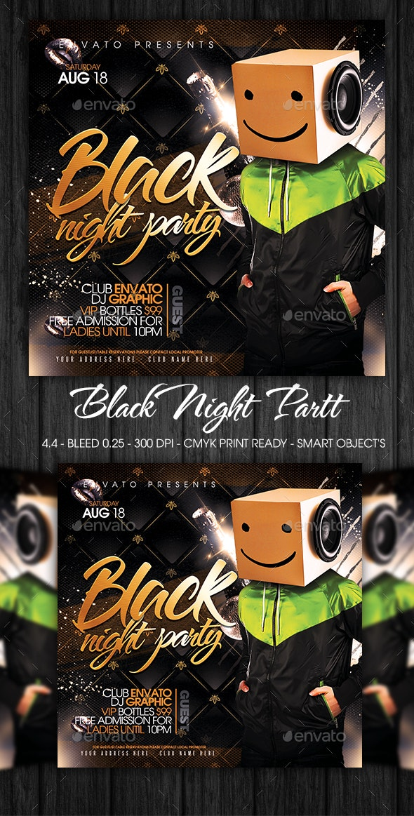 Black Night Party - Clubs & Parties Events