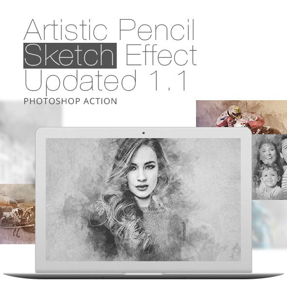 Artistic Pencil Sketch Effect