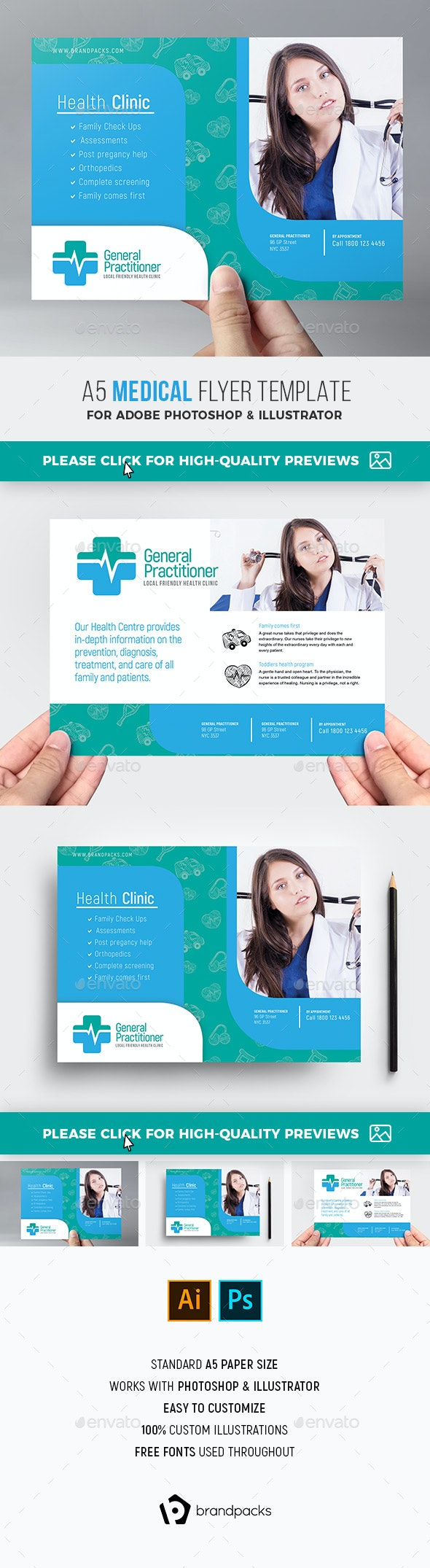 Medical Flyer Template - Concerts Events