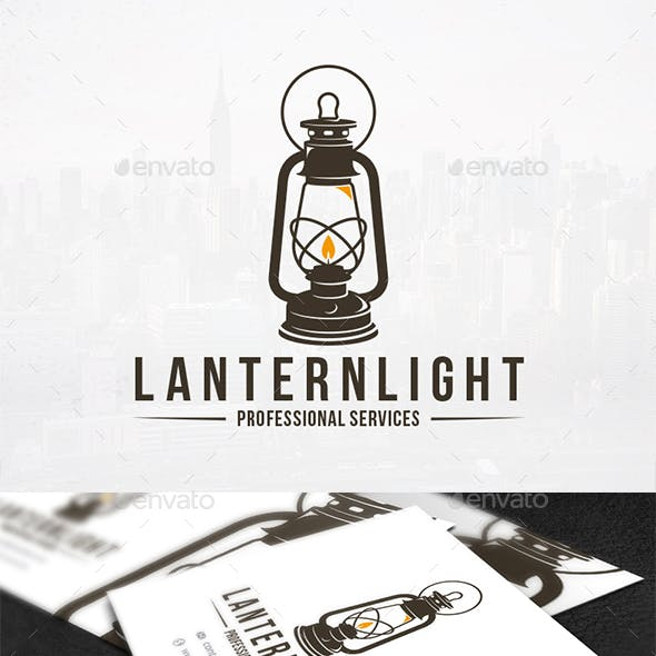 Lantern Light Logo Template