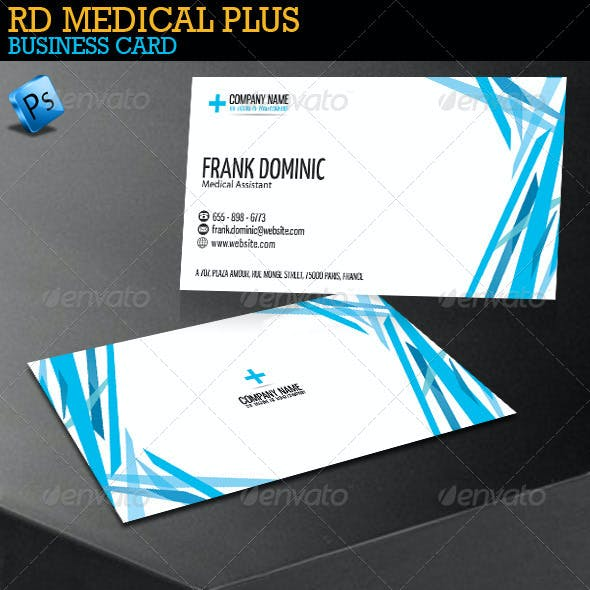 RD Medical Plus Business Card