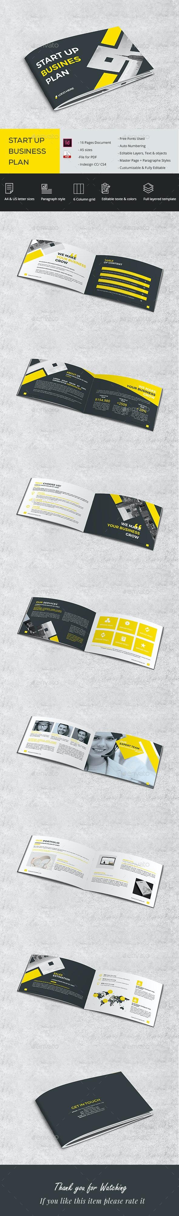 A5 Start Up Brochure - Brochures Print Templates