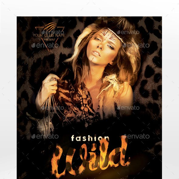 Fashion Wild Flyer Template