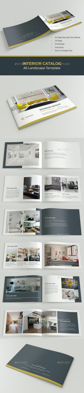 A5 Interior Design Catalog Brochure - Catalogs Brochures
