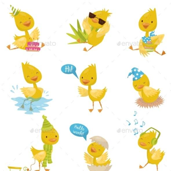 Duckling Character Set