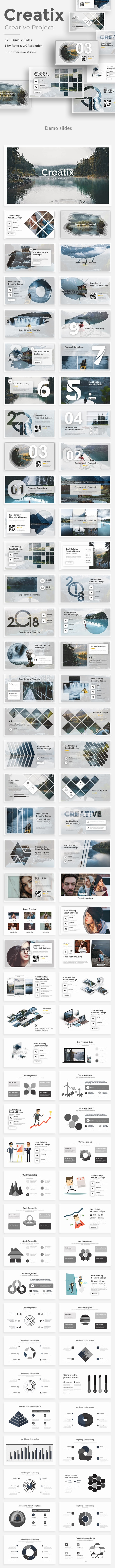 Creatix Creative Keynote Template - Creative Keynote Templates
