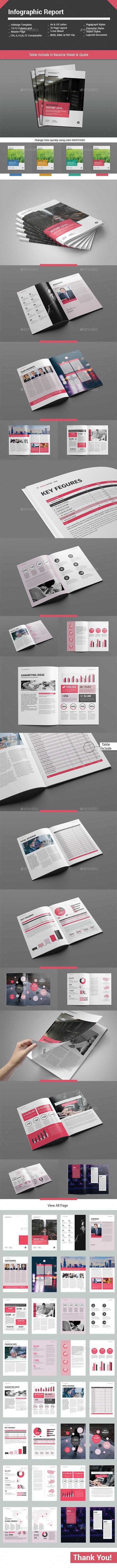 Infographic Report - Informational Brochures