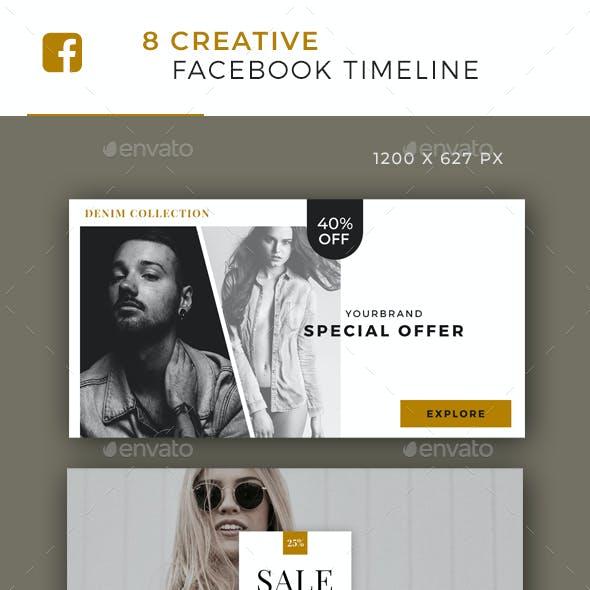 Elegant Facebook Post Banner