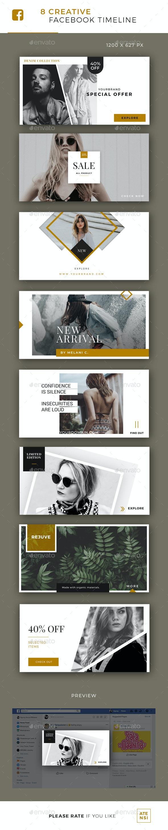 Elegant Facebook Post Banner - Facebook Timeline Covers Social Media