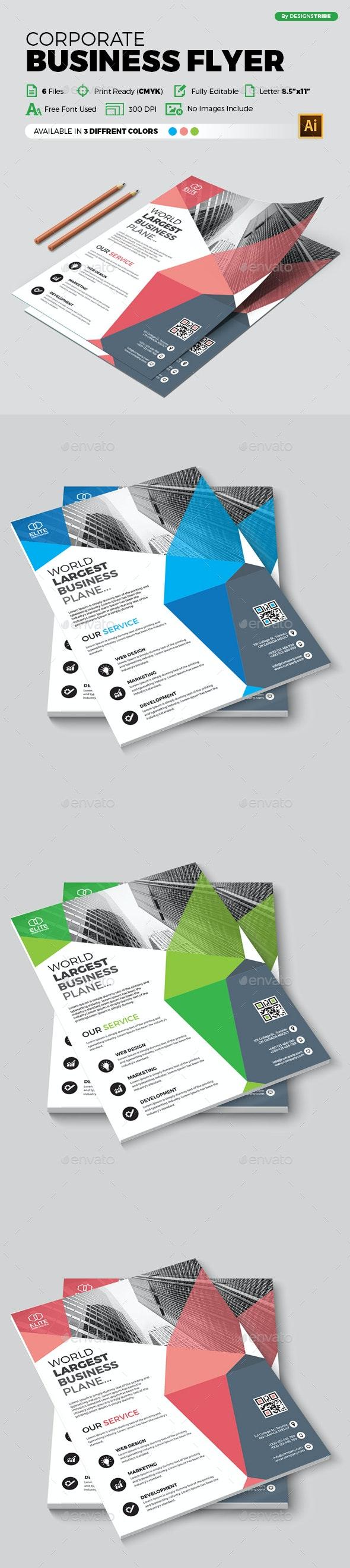 Flyer – Multipurpose 372 - Flyers Print Templates