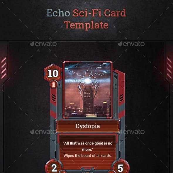 Echo Sci-Fi Card Template