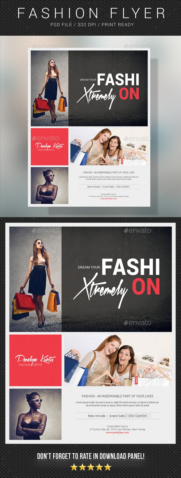 Fashion Flyer 14 - Commerce Flyers