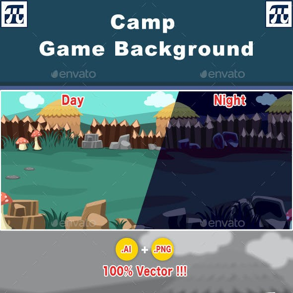 Game Background - Camp Background